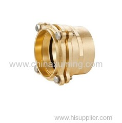 brass female threaded coupling compression fittings