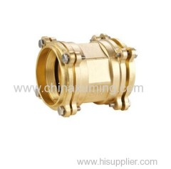 brass coupling compression fittings