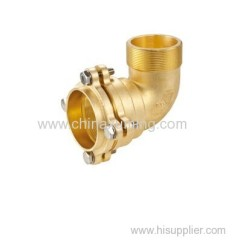 brass male elbow fittings for pe pipes