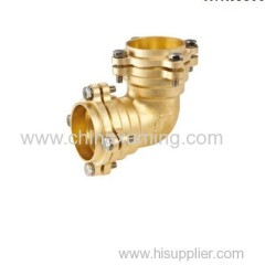 brass coupling compression fittings for pe pipes