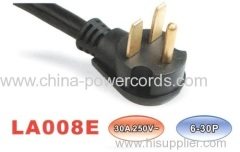 NEMA 5-30P 3 wire grounding Power cord