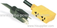 Nondetachable Power Plug for special use