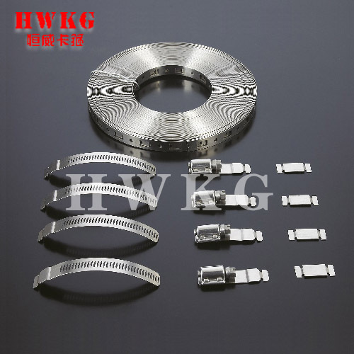 Worm drive Sheilded Hose Clamps
