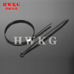 tie worm drive hose clamp-2 parts