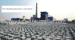hot sale 2014 new product concrete aac block