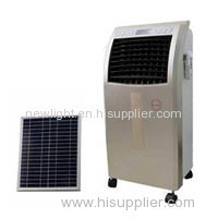 air cooler solar fan