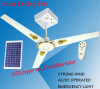 Solar Ceiling Fan with Decorative Function