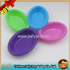 colorful oval shape deep bowls samll oval soup bowl