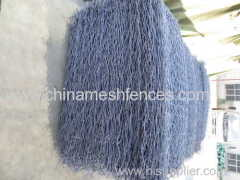 Galfan Coated Rock Basket Wire Mesh