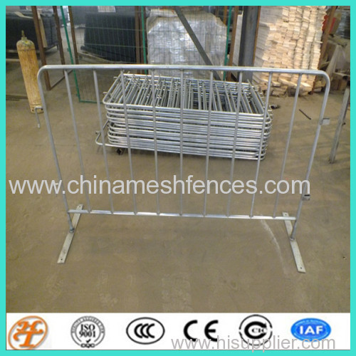 removable bridge feet barrier temporary fence barricade