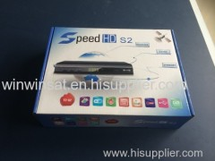NEW Speed HD S2 newest Full hd decoder with DVB-T2 and DVB-S2 one year dstv gprs decoder Combo for Africa