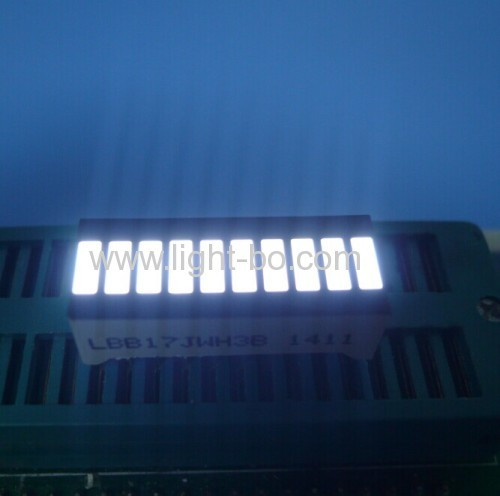 Ultra white 10-Segment LED Bar for Instrument Panel