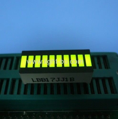 Super Bright Green/Yellow/Red 10 Segment LED Light Bar For Instrument Panel