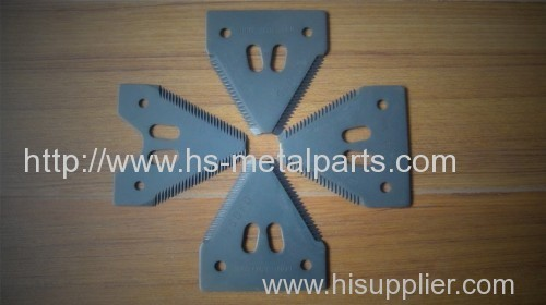 Farming equpiment parts made of Investment casting and CNC machining