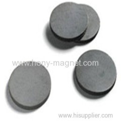 Promotional flat round anisotropic disc magnets
