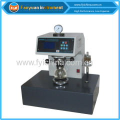 Hydraulic Bursting Strength Tester