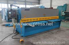 E10s Hydaulic shearing machine with swing Beam 4x6000
