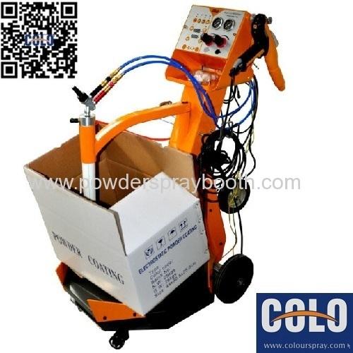 Box Feed Style Powder Coating System