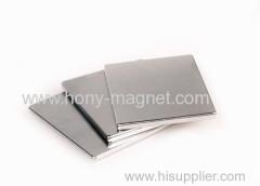 Sintered neodymium flat bar magnet