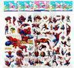 Boys favourite cartoon 3D custom puffy stickers decal of cmyk UV printing