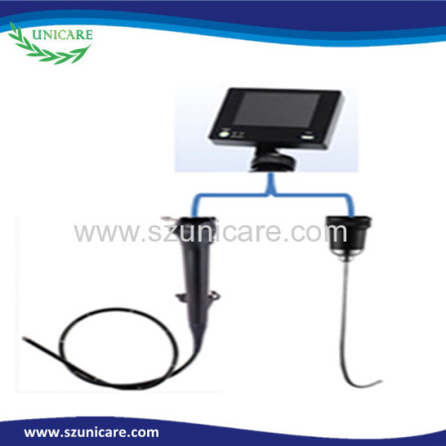 Difficult airway management anesthesia tracheal intubation 3.8mm portable flexible reusable video laryngoscope