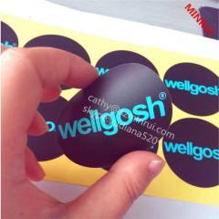 hot custom and best price logo printing sticker