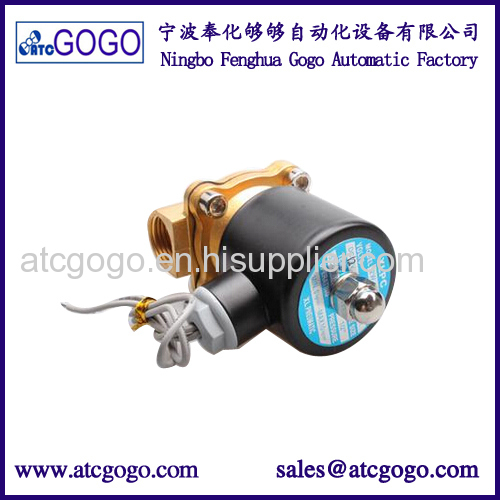 2 way underwater waterproof solenoid valve for oil water air 230v 120v