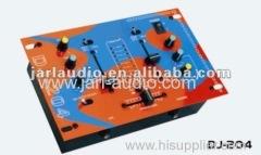 Pro mini dj mixer with LED