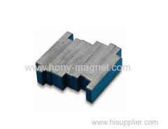 Bonded irregular neodymium magnets