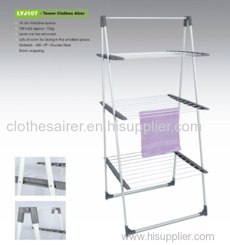 Powder Coating Steel Clothes Drying Rack