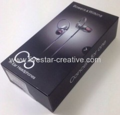Bowers and Wilkins C5 Noise-Isolating In-Ear Headphones B&W
