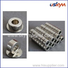Ring shape Neodymium magnet