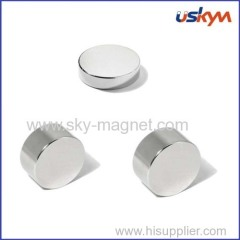 Round shape neodymium magnet