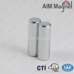 N45 Zn Cylinder NdFeB Magnet