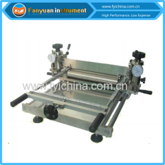 Lab Manual Coating Table