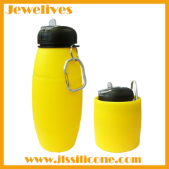 New design silicone water bottle with patent