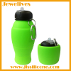 New idea silicone collapsible travel bottle