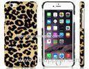 Leopard Print Pattern Plastic Mobile Phone Cases for iPhone 6 4.7