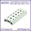 Pneumatic manifold solenoid valve base for 4v 3v sy vf series