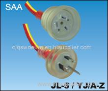 PVC Australian SAA Power Cords