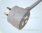 SAA Power Cord with Socket Australia Plug