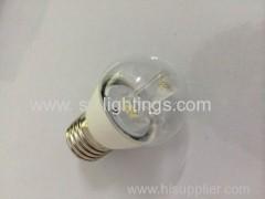 High lumen E14/E27 candelabra Led bulb G45