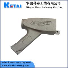 Aluminium-Sandguss Griff