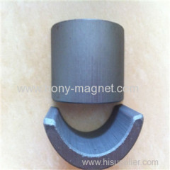 High quality bonded neodymium arc magnets