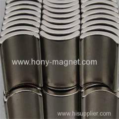 Good performance arc bonded neodymium magnetic