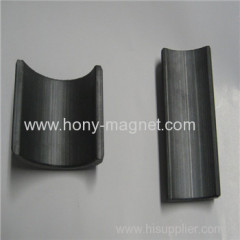 High performance arc neodymium segment magnet