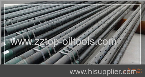 API Slotted casing pipe