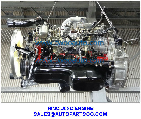 Engines And Auto Parts For Sale: USED HINO J08C ENGINE J08C ENGINE FOR SALE From China Manufacturer