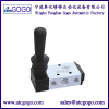 5 Port 2 position pneumatic air flow control hand pull valve Manual valve
