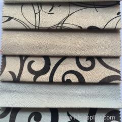 Printed Burnout sofa fabric